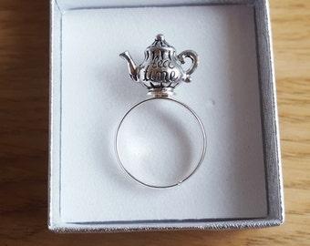 Alice im Wunderland Ring Teekanne Darling wenig TEATIME Tea-party