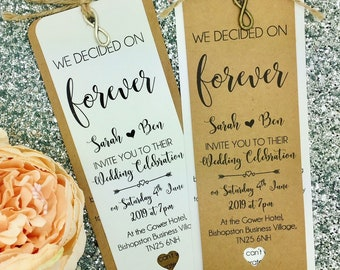 Rustic Wedding Invitation, Vintage Wedding Invitation, Flowers