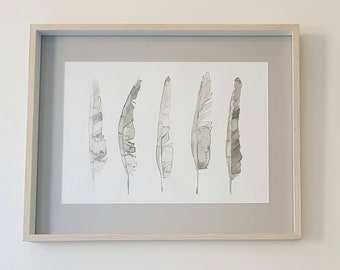 Ink Feather Print
