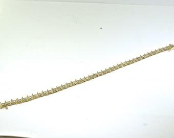Womens Diamond Tennis Bracelet