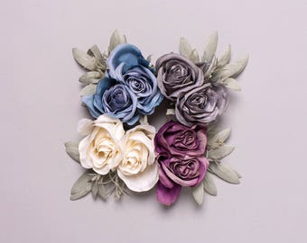 Celandine Oversized Rose Corsage