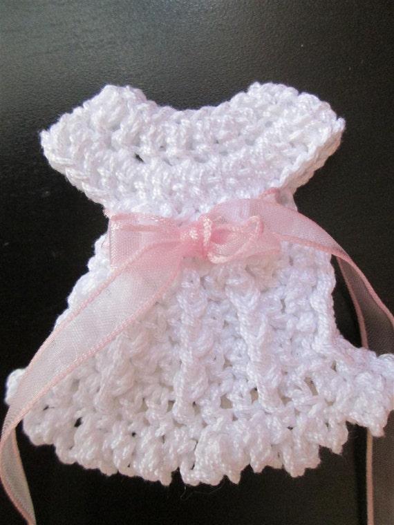 Marvelous Crochet Dress Favors Pattern, Baby Shower, Baptism, Christening, Buy ONE  Pattern Get 2 Amigurumi Crochet Patterns For FREE