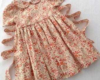 Exclusive Little Girls Summer Dress in Liberty Arcade Carlino
