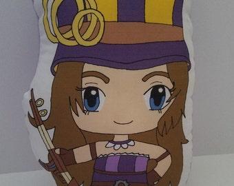 League of Legends Caitlyn Plush Pillow