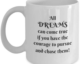 Chase your big dreams coffee mug new graduates