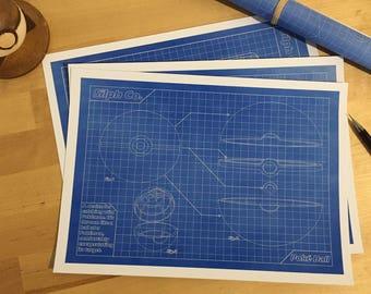 Poké Ball Blueprint