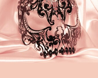 Venetian Mask Thanatos