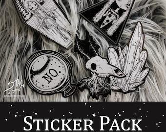 Creepy Cute Misfit Medley Sticker pack