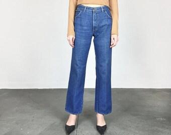 "1970s SASSON High Waist Jeans / 34"" Waist  (L)"