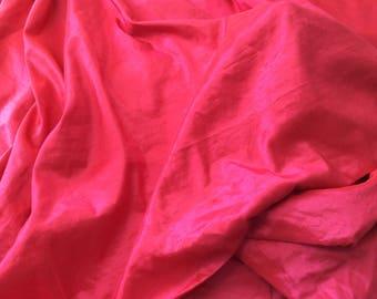 High quality tafffetas fabric, hot pink