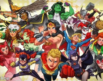 I Heart Comic Book Women 2.0