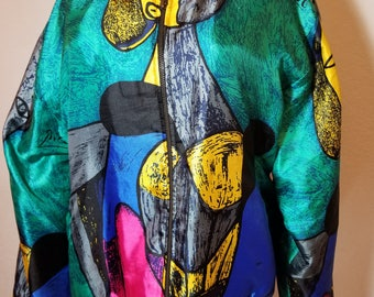 FREE  SHIPPING   Vintage  Picasso  Jacket