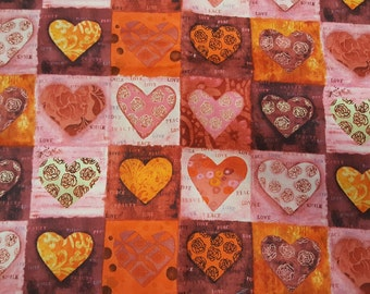 Sacre Coeur Heart Patch.  Fabrics da Villeneuve for Springs Fabrics