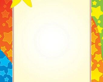 """Star Guy Letterhead, Gold Foil, 8.5""""x11"""", 40/PK"""