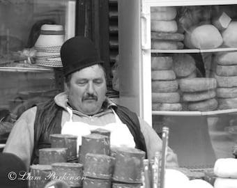 Cheese Man of Transylvania - Original Signed Fine Art Photograph