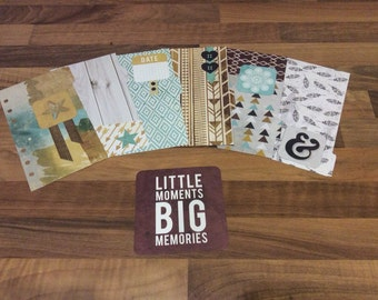 Indian Summer - 6 Personal Size Filofax Dividers