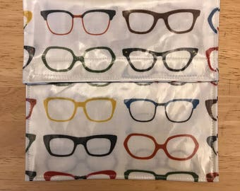 Reusable snack bag Glasses