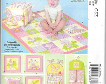 Baby Nursery Collection New Uncut McCalls Pattern 7372