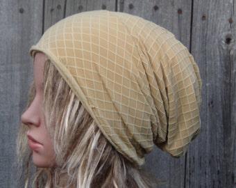 Slouchy Hat, Women Beanie Hat, Ladies Slouchy Hat, Chemo hat, Cotton Hat, Cancer Hats, Best Beanies, Chemo Headwear, Tam Hat, Handmade Hat