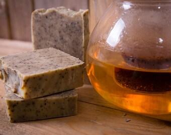 Rooibos Tea Soap - Certified 100% Natural Pure Vegan Handmade Soap (Cold Process)