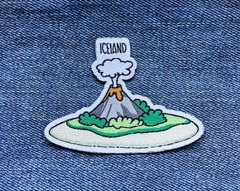 Travel patch: Iceland (volcano)