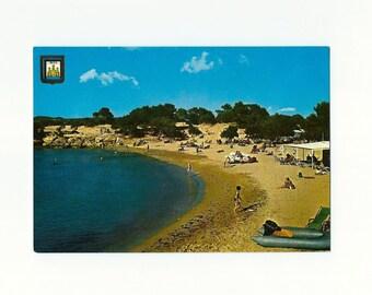 Unused Vintage Ibiza Postcard, Port of Turrent- Spain -1966 - C27
