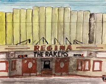 The Rakers REGINA CD