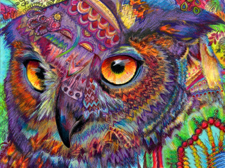 Zentangle Oil Painting