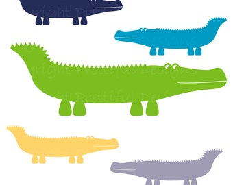 Alligator Clip Art - Peter