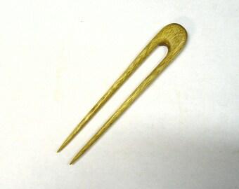 Round Top Hair Fork  (Malaysian Mahogany )