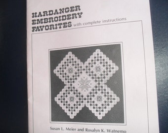 Hardanger Embroidery Instruction Book