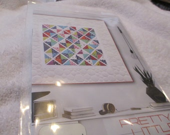 """Paper Pattern for quilt called Pretty Little Dots by Zen Chic for Moda 61"""" square"""