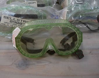 Vintage Goggles Set of 7  Vintage School  Made in USA