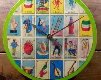 Loteria Wall Clock