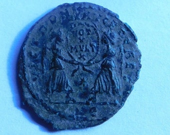 Authentic Ancient Roman Coin of Magnentius 350-353 A.D.
