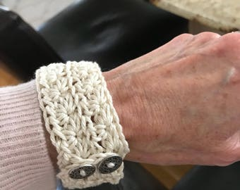 Two Handmade Cuffs For One