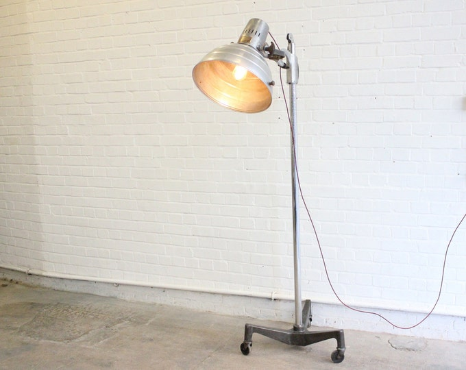 "The ""Sollux"" Floor Standing Mid Century Medical Lamp"
