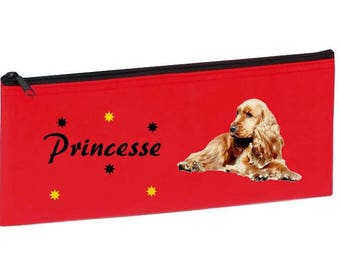 Red Cocker personalized with name package