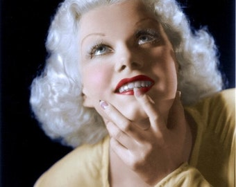 Jean Harlow in a studio photo from the 1930's # 2
