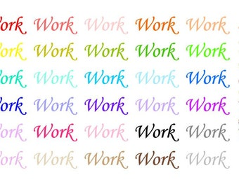Work Wordy Icons WI0018