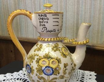 Vintage Italian Handpainted Tea Set