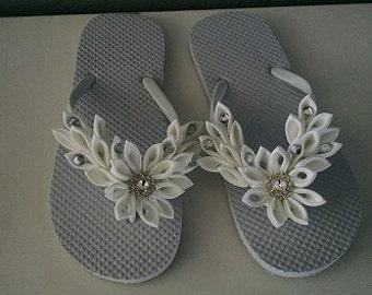 flip flops, bridal shoes, bridal flip flops, reception shoes, wedding flip flops, wedding shoes, wedding shoe, bridal shoe, satin flip flop