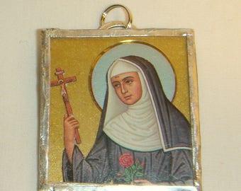 St Rita of Cascia Pendant inv1675