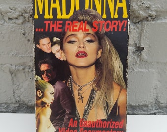 Madonna...The Real Story! An Unauthorized Video (VHS) Documentary from 1990