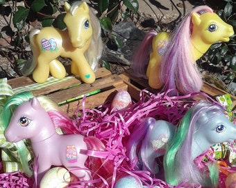 My little pony g3 Easter ponies