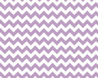 Small Chevron Lavender  by Riley Blake Designs Fat Quarter Cut