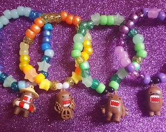 4 Domo Kandi Singles - Bracelets - Raver - simple