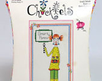 Counted Cross Stitch Chicklets Smarty Pants #019-0429