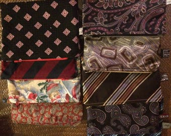 Custom Pouch from Your Special Neckties
