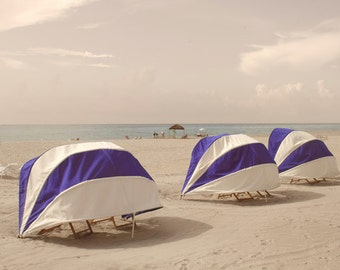 Beach Cabana Tents Seaside Photography Florida Beach coastal art decor